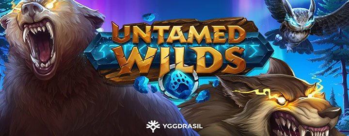 Yggdrasil lancia la slot Untamed Wilds