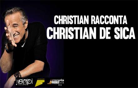 CHRISTIAN DE SICA AL CASINO' DI SANREMO