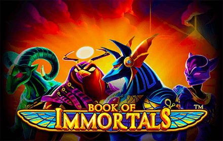 SU LEOVEGAS ARRIVA LA SLOT BOOK OF IMMORTALS