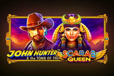 John Hunter and the Tomb of the Scarab Queen slot machine