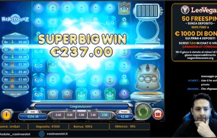 big win reactoonz